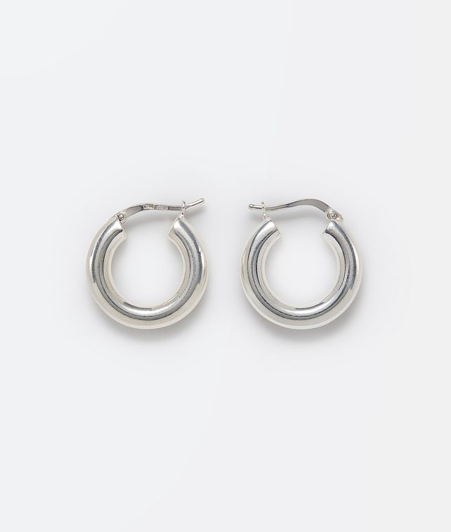 BOTTEGA VENETA EARRINGS IN STERLING SILVER Earrings E fp