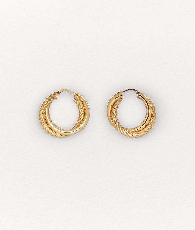 BOTTEGA VENETA EARRINGS IN STERLING SILVER Earrings Woman fp