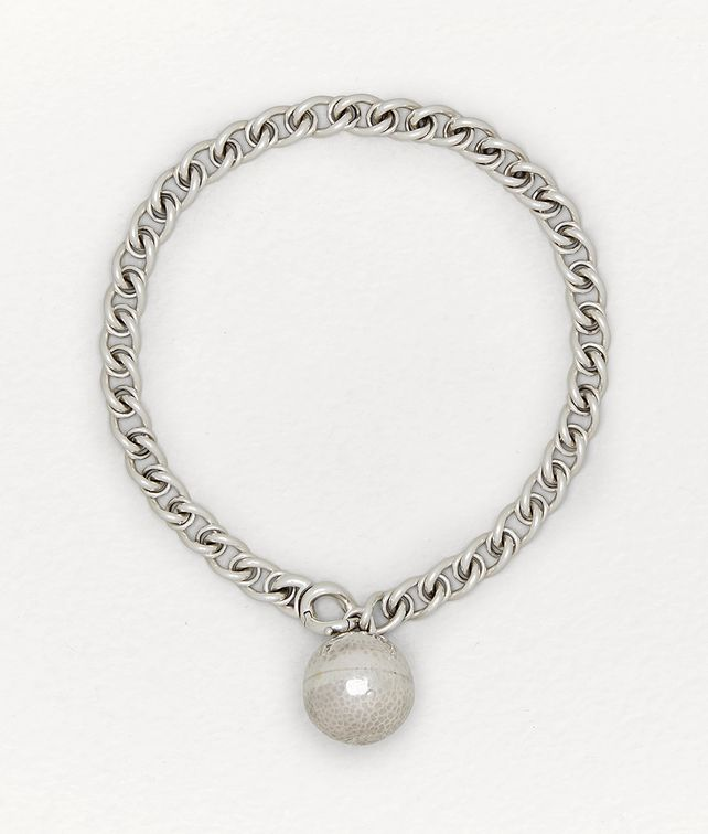 BOTTEGA VENETA NECKLACE IN STERLING SILVER Necklace [*** pickupInStoreShipping_info ***] fp