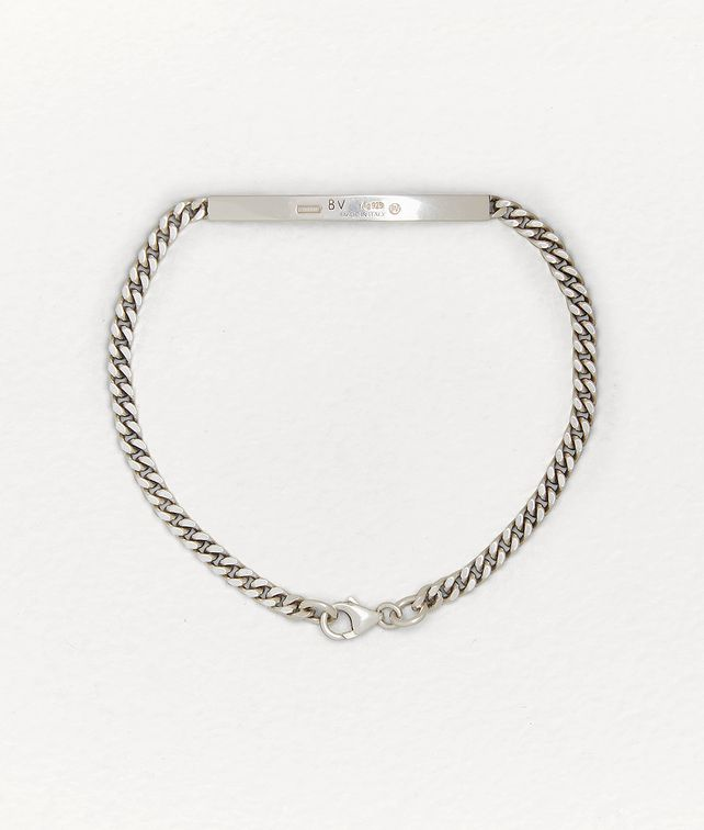 BOTTEGA VENETA BRACELET IN STERLING SILVER Bracelet E fp
