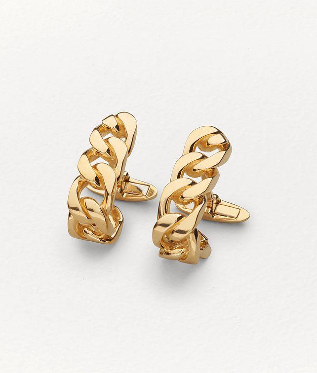 BOTTEGA VENETA CUFFLINKS IN STERLING SILVER Other Jewellery Man fp