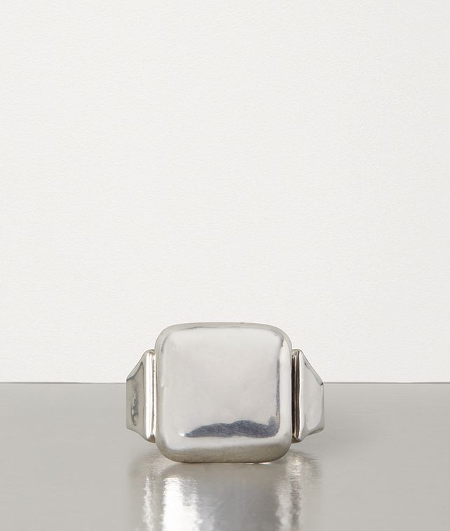 BOTTEGA VENETA RING IN SILVER Ring E fp