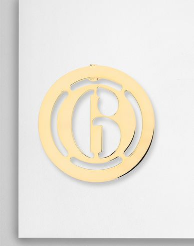 JEWELLERY Logo earring Gold