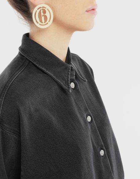MM6 MAISON MARGIELA Logo earring Earrings Woman r