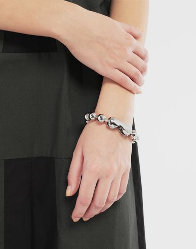 JEWELLERY Ball chain bracelet Silver