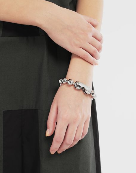 MM6 MAISON MARGIELA Ball chain bracelet Bracelet Woman r