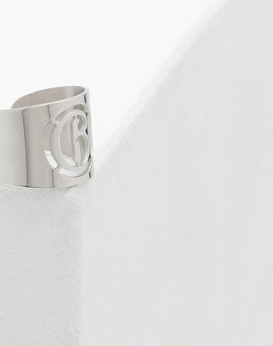 JEWELLERY Logo ring Silver