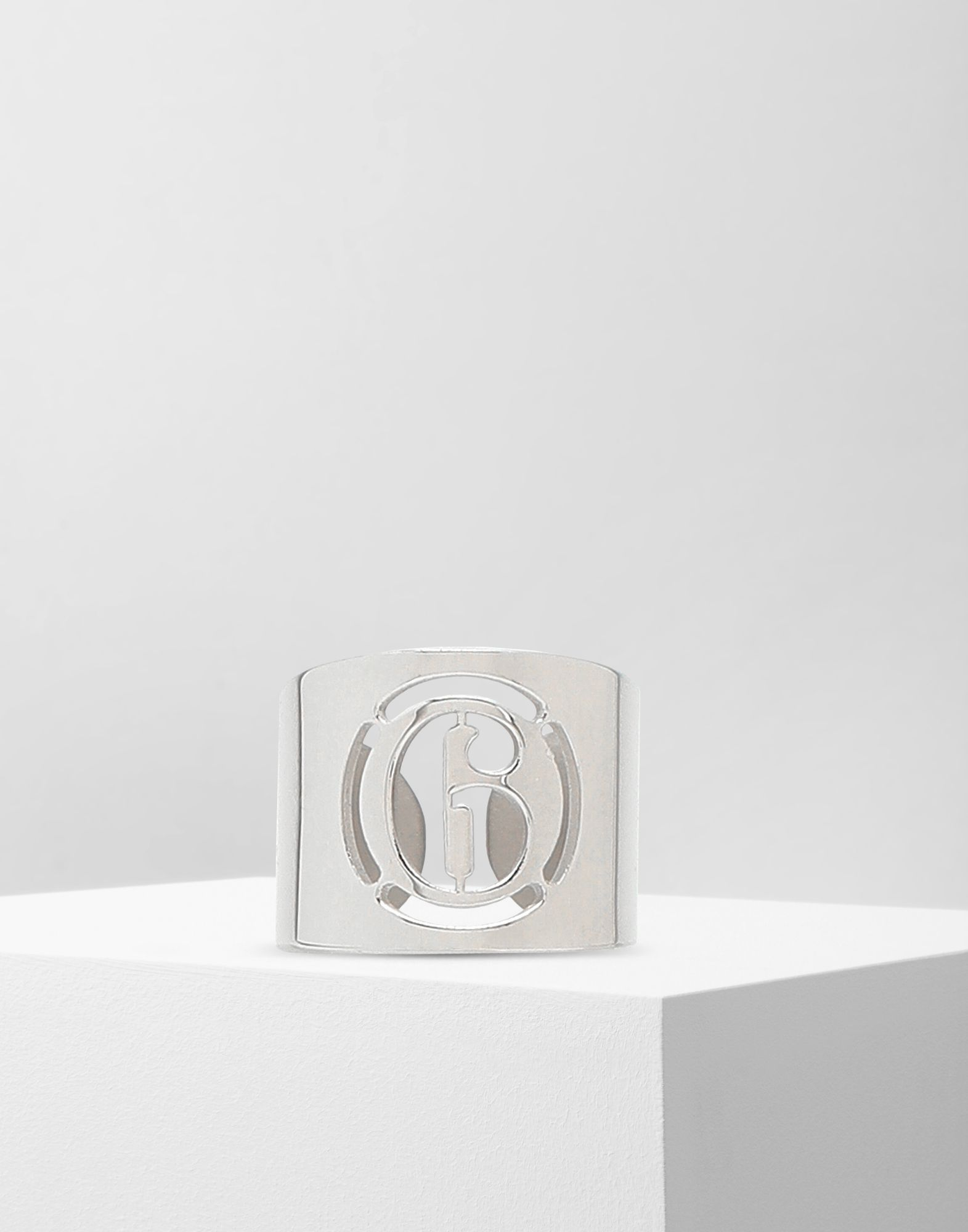 MM6 MAISON MARGIELA Logo-Ring Ring Damen f