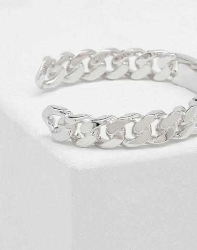 BIJOUX  Bracelet gravé logo Argent