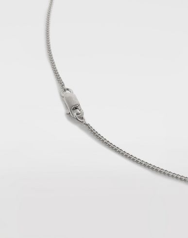 JEWELRY  Silver 'Fragile' engraving necklace Silver