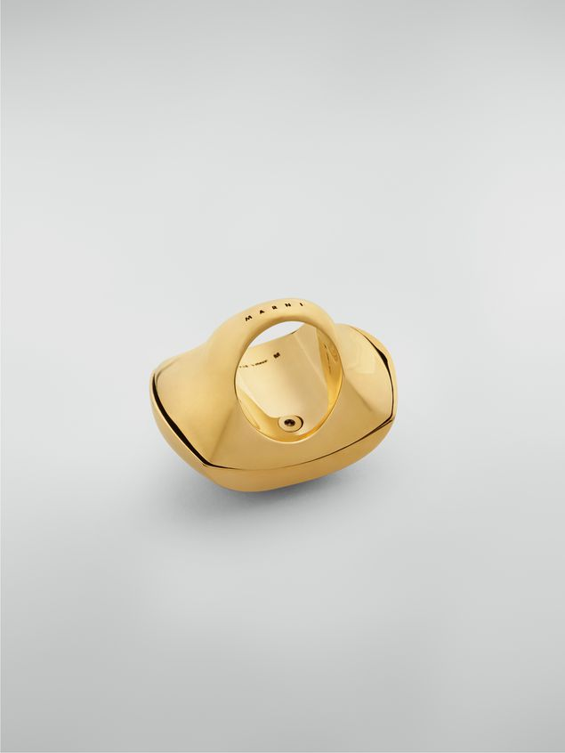 Marni Curved ring in metal Woman - 4