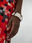 Marni  Bracelet in curved silver-tone metal Woman - 2