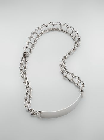 Marni Metal necklace with plate Woman f