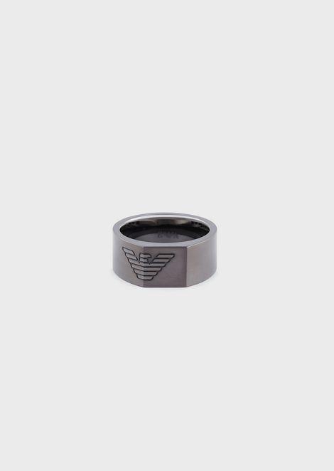 Men's Gunmetal Ring