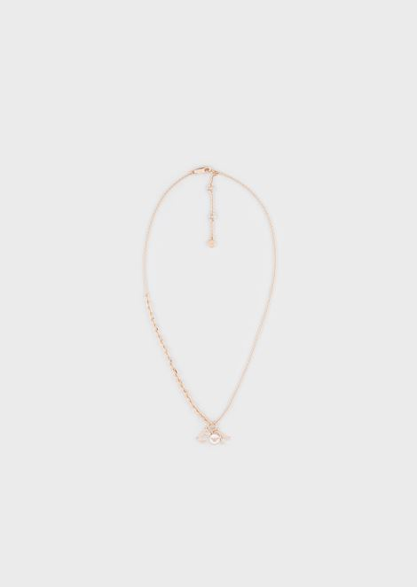 Women's Rose Gold-Tone Sterling Silver Necklace