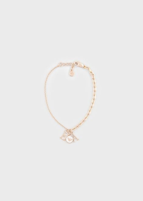 Women's Rose Gold-Tone Sterling Silver Bracelet