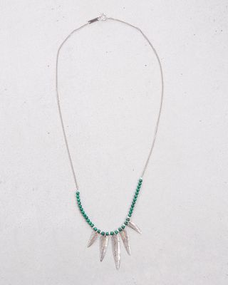 MR FEATHER NECKLACE