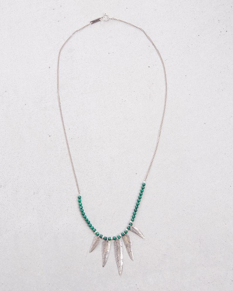 MR FEATHER NECKLACE ISABEL MARANT