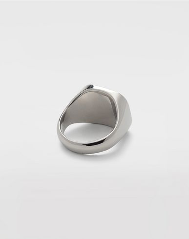 JEWELLERY Silver chevalier ring Silver