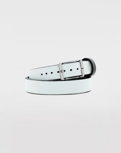 JEWELRY  Calfskin belt bracelet  Black