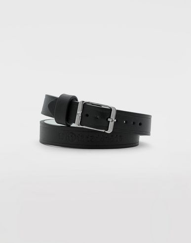 JEWELLERY Calfskin belt bracelet  Black