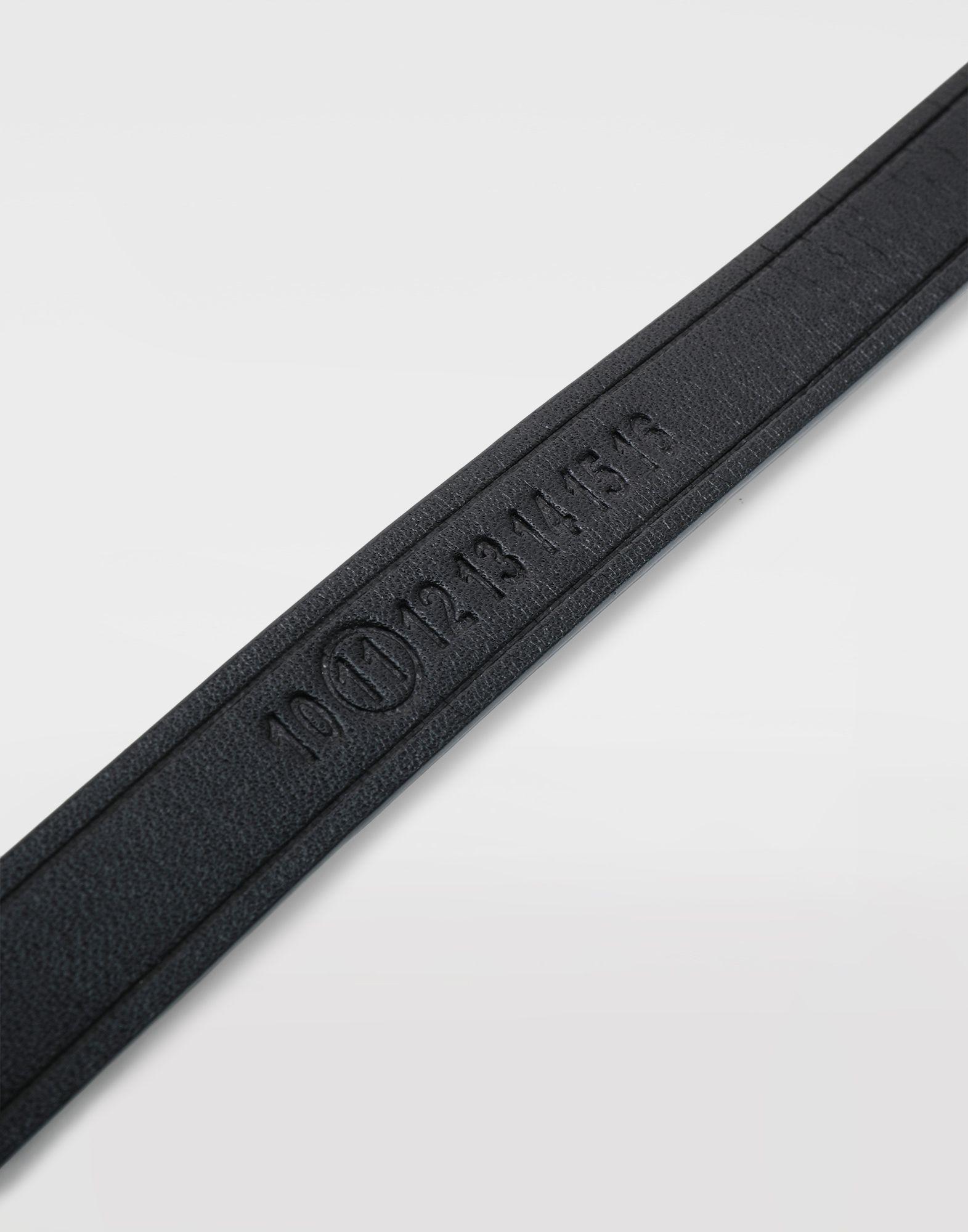 MAISON MARGIELA Calfskin belt bracelet Bracelet Man a