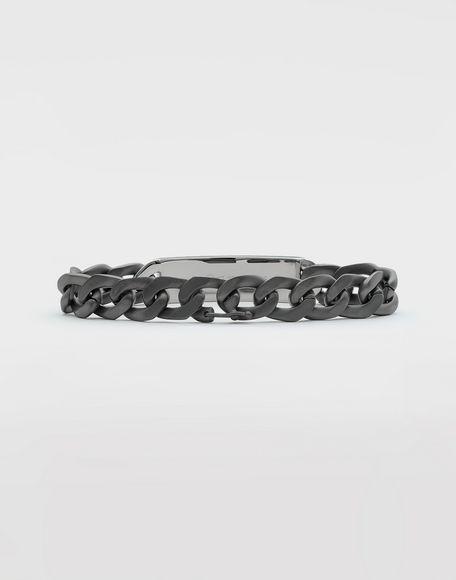 MAISON MARGIELA Silver name tag bracelet Bracelet Man d