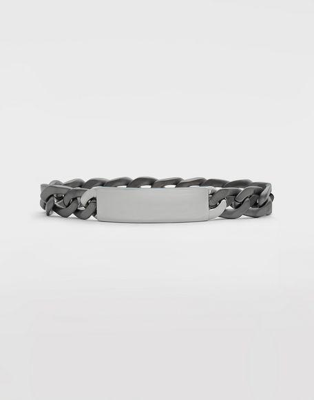 MAISON MARGIELA Silver name tag bracelet Bracelet Man f