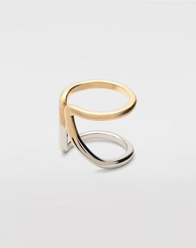 JEWELRY  Rings set of 4 Gold