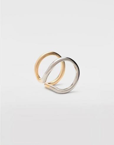 JEWELLERY Rings set of 4 Gold
