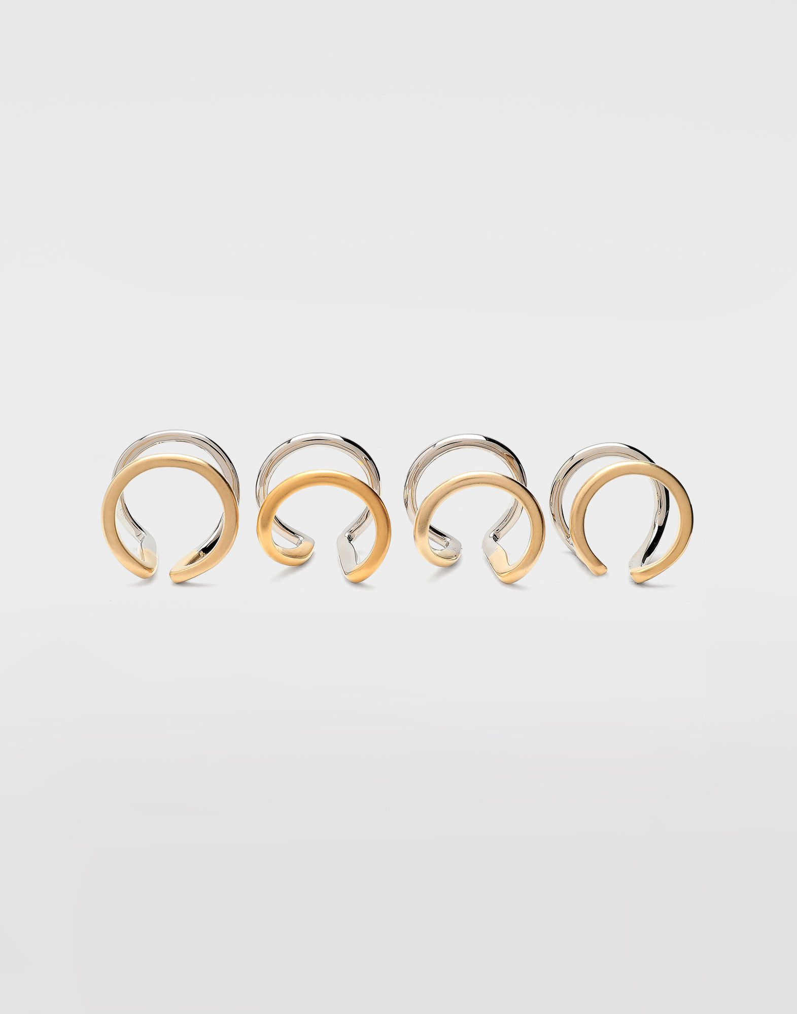 MAISON MARGIELA Rings set of 4 Ring Woman f