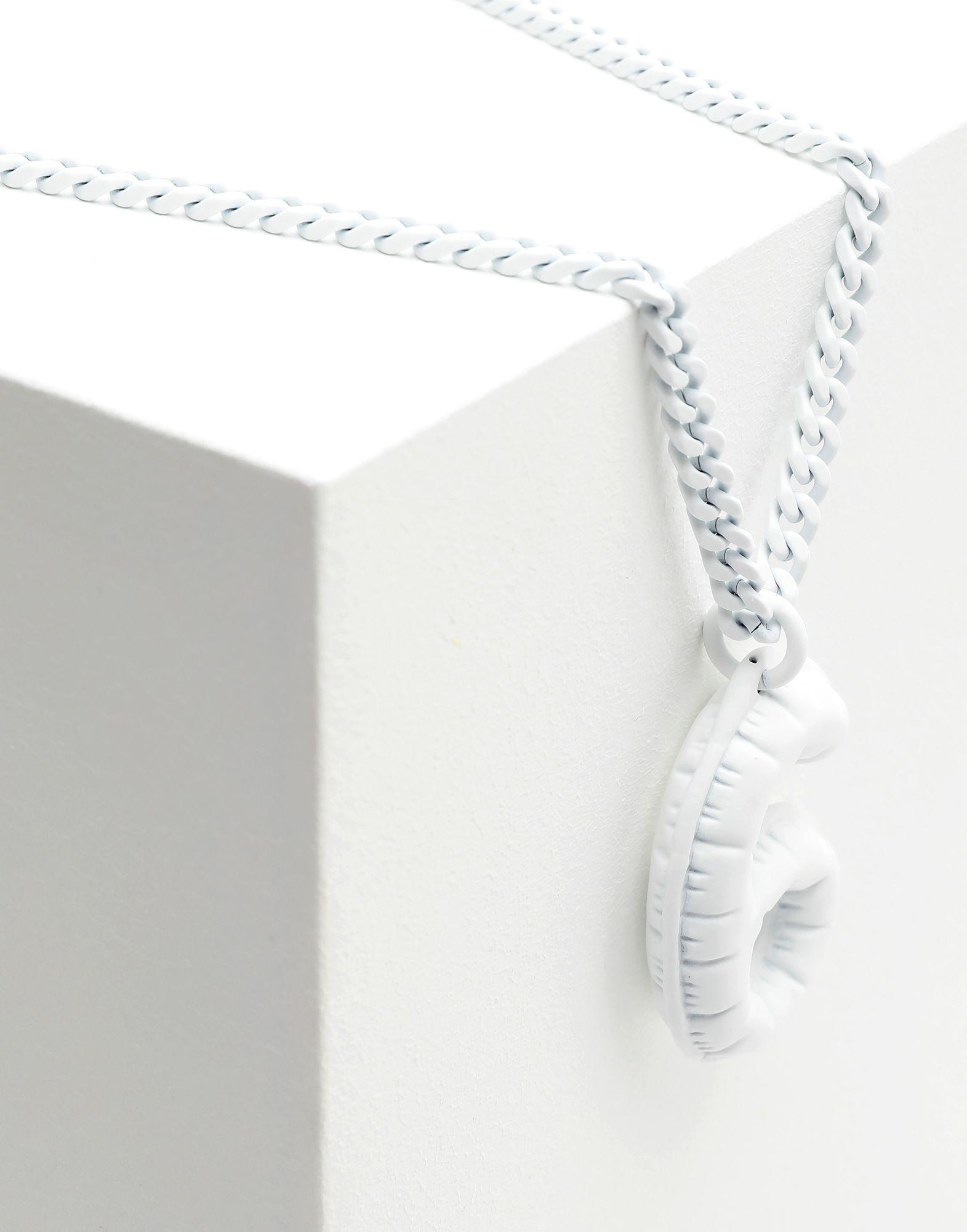 MM6 MAISON MARGIELA '6' logo necklace Necklace Woman a