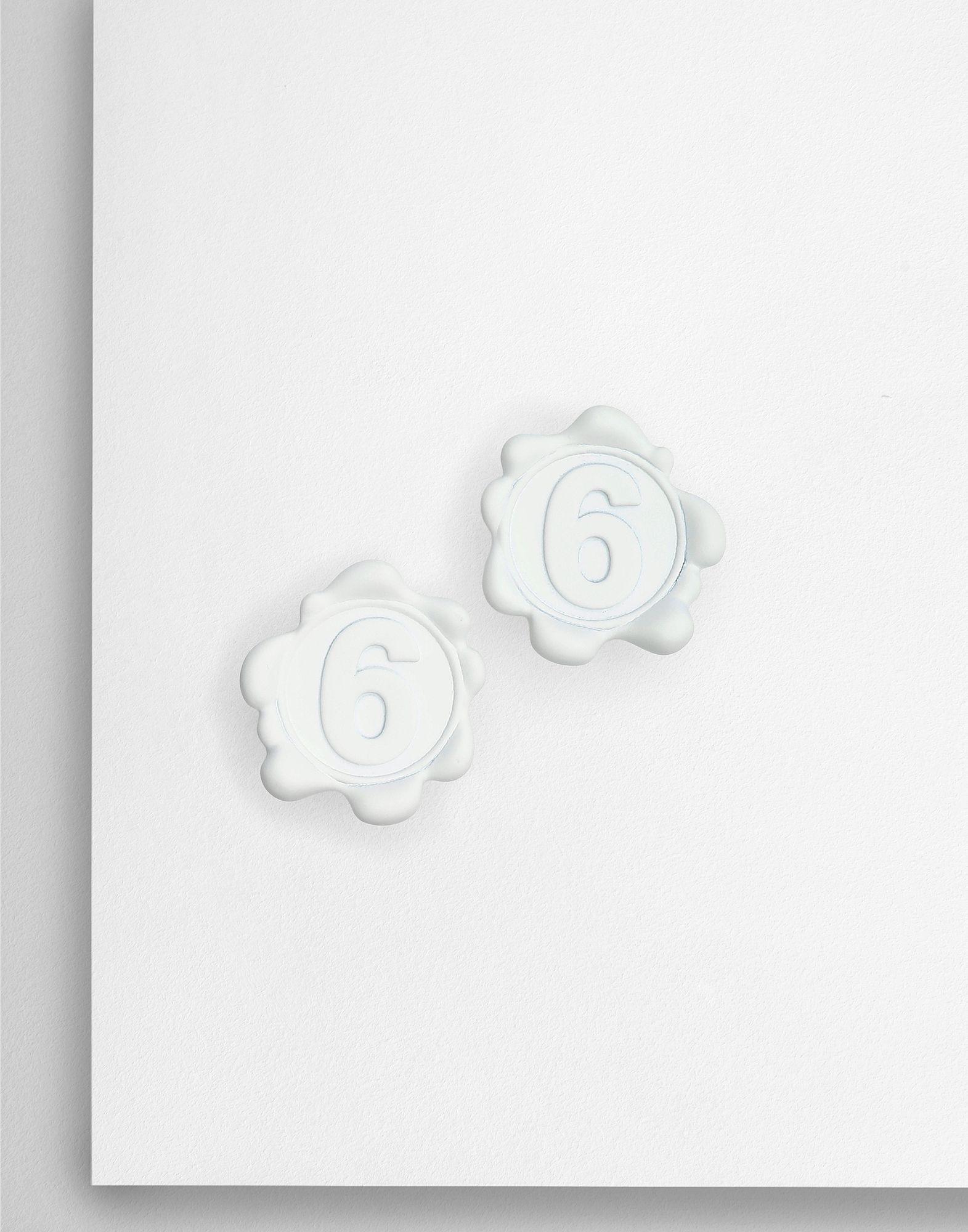 MM6 MAISON MARGIELA Logo earrings Earrings Woman f