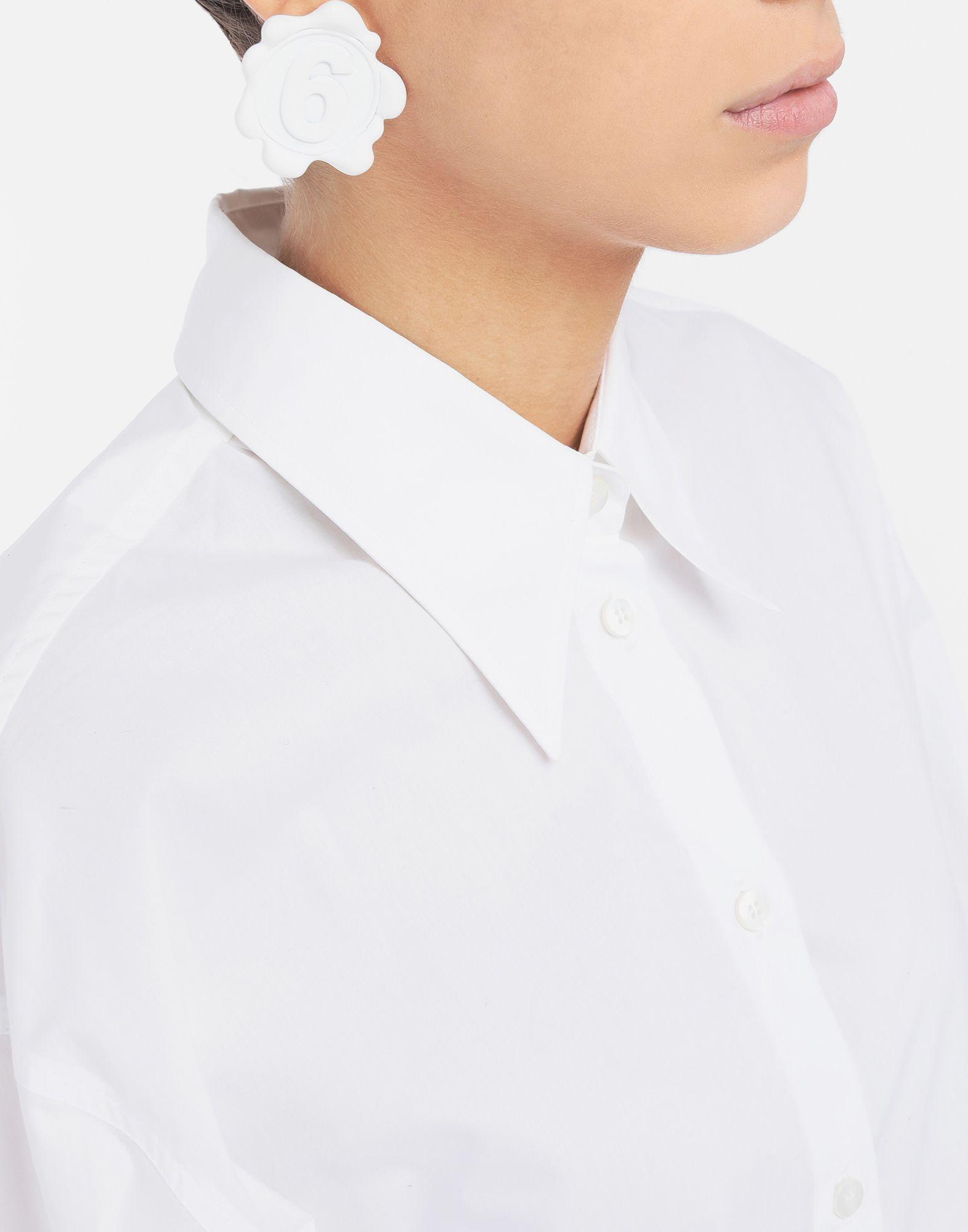 MM6 MAISON MARGIELA Logo earrings Earrings Woman r