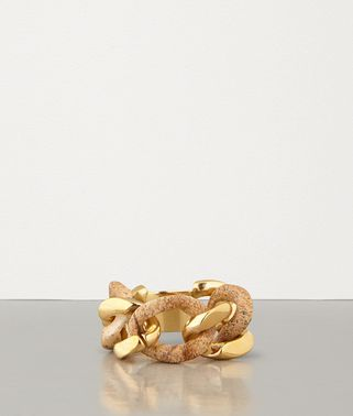 RING IN PICTURE JASPER AND GOLD-PLATED SILVER