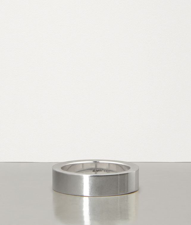 BOTTEGA VENETA BRACELET IN SILVER Ring Man fp
