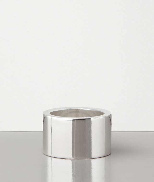 BOTTEGA VENETA RING IN SILVER Ring Man fp