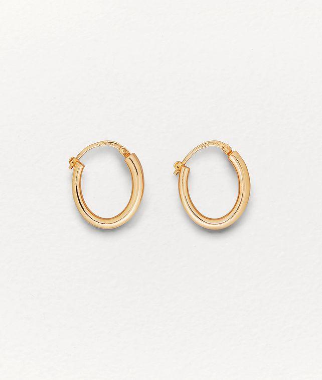 BOTTEGA VENETA EARRINGS IN SILVER Earrings Man fp