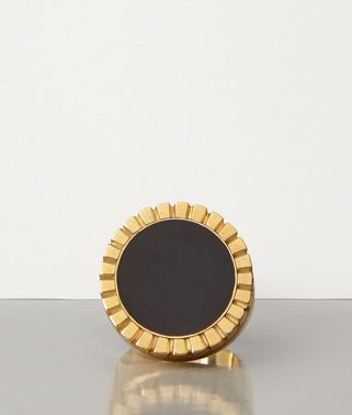 RING IN GOLD-PLATED SILVER AND ENAMEL