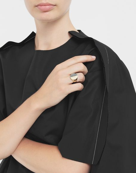 MAISON MARGIELA Logo ring Ring Woman r