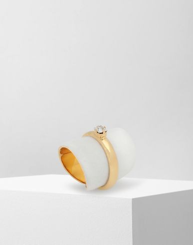 JEWELLERY 'Display' double ring Gold