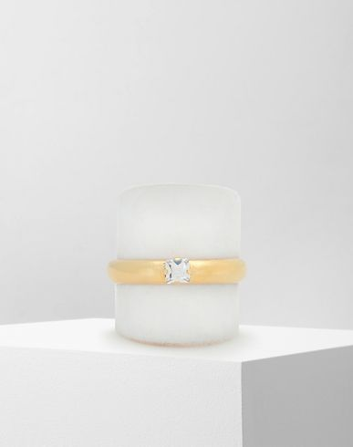JEWELRY  'Display' double ring Gold