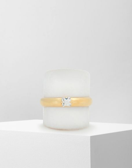 MM6 MAISON MARGIELA 'Display' double ring Ring Woman f