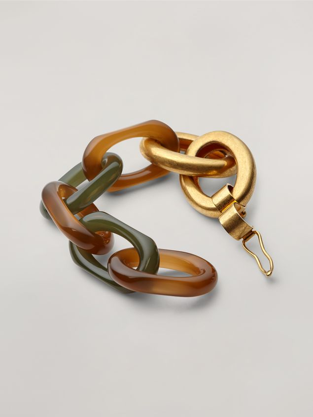 Marni VERTIGO bracelet in resin and metal Woman - 3