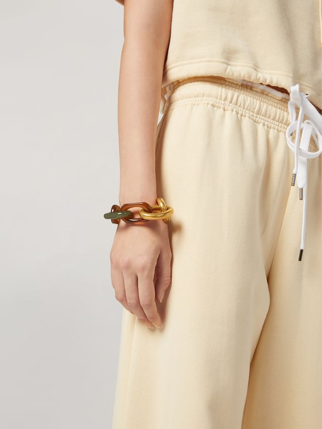 Marni VERTIGO bracelet in resin and metal Woman - 2