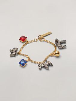 Marni GIGA JACKS bracelet in resin and metal Woman