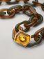Marni VERTIGO long necklace in resin strass and metal with hexagonal ornament Woman - 3