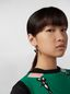 Marni CHINESE NEW YEAR 2020 earrings in metal and resin with rat Zodiac sign pendant Woman - 2