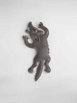Marni Metal brooch KAZUMA NAGAI bird Man