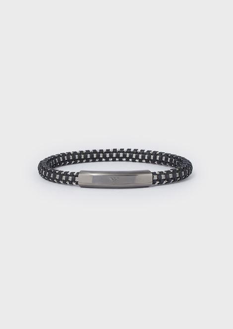 Men's Gunmetal-tone Stainless Steel Bracelet